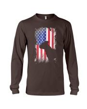 American Pit Bull Terrier USA Flag Shirt  Long Sleeve Tee thumbnail