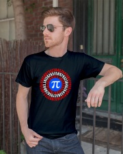 Captain Pi T-shirt Math Superhero Classic T-Shirt lifestyle-mens-crewneck-front-2