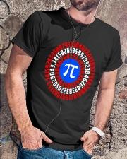 Captain Pi T-shirt Math Superhero Classic T-Shirt lifestyle-mens-crewneck-front-4