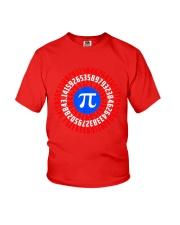 Captain Pi T-shirt Math Superhero Youth T-Shirt thumbnail