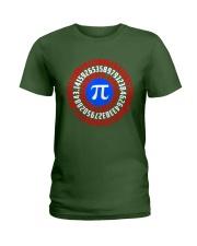 Captain Pi T-shirt Math Superhero Ladies T-Shirt thumbnail