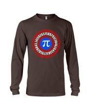 Captain Pi T-shirt Math Superhero Long Sleeve Tee thumbnail