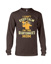 Quarterback Mom T-Shirt Football Long Sleeve Tee thumbnail