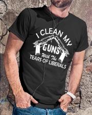 I Clean My Gun Classic T-Shirt lifestyle-mens-crewneck-front-4