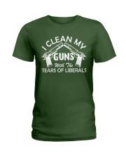 I Clean My Gun Ladies T-Shirt thumbnail