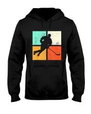 Ice Hockey Player Stick Goalie Retro Vintage  Hooded Sweatshirt thumbnail