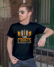 Craft Beer Lover T-Shirt Classic T-Shirt lifestyle-mens-crewneck-front-2