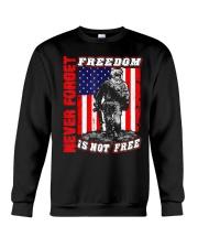 Veteran Patriotic American Flag T-shirt Crewneck Sweatshirt thumbnail