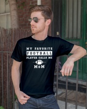 My Favorite Football Player Calls Me Mom  Classic T-Shirt lifestyle-mens-crewneck-front-2
