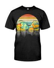Life Is Ironic Buddha Vintage T Shirt Classic T-Shirt front