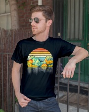 Life Is Ironic Buddha Vintage T Shirt Classic T-Shirt lifestyle-mens-crewneck-front-2