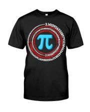 Pi Spiral Novelty Shirt Classic T-Shirt front