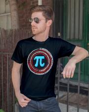 Pi Spiral Novelty Shirt Classic T-Shirt lifestyle-mens-crewneck-front-2