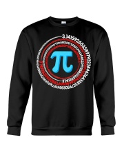 Pi Spiral Novelty Shirt Crewneck Sweatshirt thumbnail