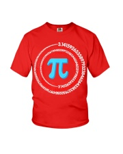 Pi Spiral Novelty Shirt Youth T-Shirt thumbnail
