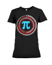 Pi Spiral Novelty Shirt Premium Fit Ladies Tee thumbnail
