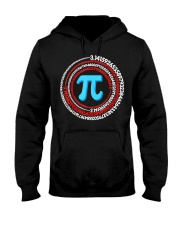 Pi Spiral Novelty Shirt Hooded Sweatshirt thumbnail
