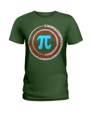 Pi Spiral Novelty Shirt Ladies T-Shirt thumbnail