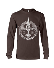 Odin's Spear Ravens Norse Runes Long Sleeve Tee tile