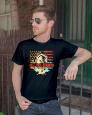Reel Cool Grandad Shirt Funny Fishing Father's Day Classic T-Shirt lifestyle-mens-crewneck-front-2