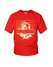 Reel Cool Grandad Shirt Funny Fishing Father's Day Youth T-Shirt thumbnail