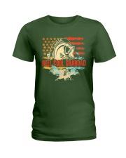 Reel Cool Grandad Shirt Funny Fishing Father's Day Ladies T-Shirt thumbnail