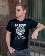 Fa-Thor Like A Dad Tshirt Classic T-Shirt lifestyle-mens-crewneck-front-2