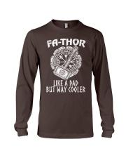 Fa-Thor Like A Dad Tshirt Long Sleeve Tee thumbnail