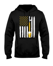 Craft Beer American Flag USA T-Shirt Hooded Sweatshirt thumbnail