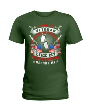 I Am A Veteran Like My Father Before Me T-shirt Ve Ladies T-Shirt thumbnail