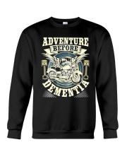 Adventure Before Dementia Old Man Crewneck Sweatshirt thumbnail
