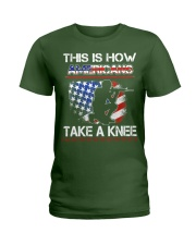 This Is How Americans Take A Knee T-Shirt  Ladies T-Shirt thumbnail