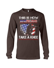 This Is How Americans Take A Knee T-Shirt  Long Sleeve Tee thumbnail
