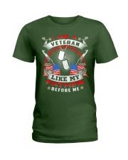 i am a veteran like my father before me shirt Ladies T-Shirt thumbnail
