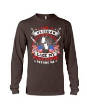 i am a veteran like my father before me shirt Long Sleeve Tee thumbnail