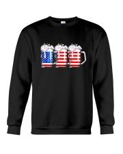Beer American Flag T shirt Crewneck Sweatshirt thumbnail