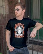 Motorcycle Mens T-Shirt Classic T-Shirt lifestyle-mens-crewneck-front-2