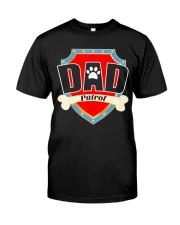 Funny Dad Patrol T-Shirt Classic T-Shirt front