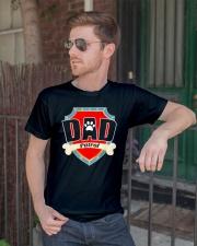 Funny Dad Patrol T-Shirt Classic T-Shirt lifestyle-mens-crewneck-front-2