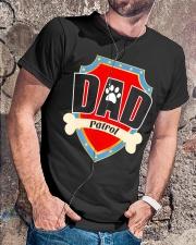 Funny Dad Patrol T-Shirt Classic T-Shirt lifestyle-mens-crewneck-front-4