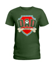 Funny Dad Patrol T-Shirt Ladies T-Shirt thumbnail