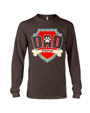 Funny Dad Patrol T-Shirt Long Sleeve Tee thumbnail