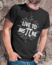 Live to Inspire Pi Day T Shirt Classic T-Shirt lifestyle-mens-crewneck-front-4