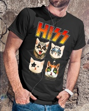 Hiss Cat T Shirt Funny Cat Lover Classic T-Shirt lifestyle-mens-crewneck-front-4