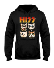 Hiss Cat T Shirt Funny Cat Lover Hooded Sweatshirt thumbnail