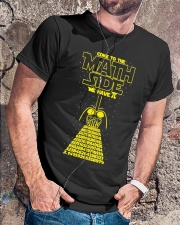 Come To The Math Side We Have Pi - Math Geek Classic T-Shirt lifestyle-mens-crewneck-front-4