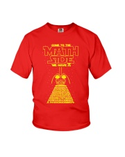 Come To The Math Side We Have Pi - Math Geek Youth T-Shirt thumbnail