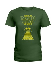 Come To The Math Side We Have Pi - Math Geek Ladies T-Shirt thumbnail