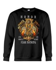 Valhalla Valknut Odin Strength Crewneck Sweatshirt thumbnail