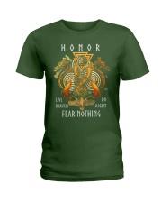 Valhalla Valknut Odin Strength Ladies T-Shirt thumbnail